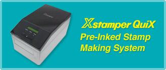 Xstamper Pre-Inked Stamp Making System