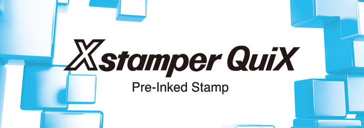 Xstamper QuiX Pre-Inked Stamp