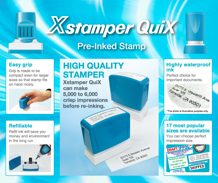 HIGH QUALITY STAMPER